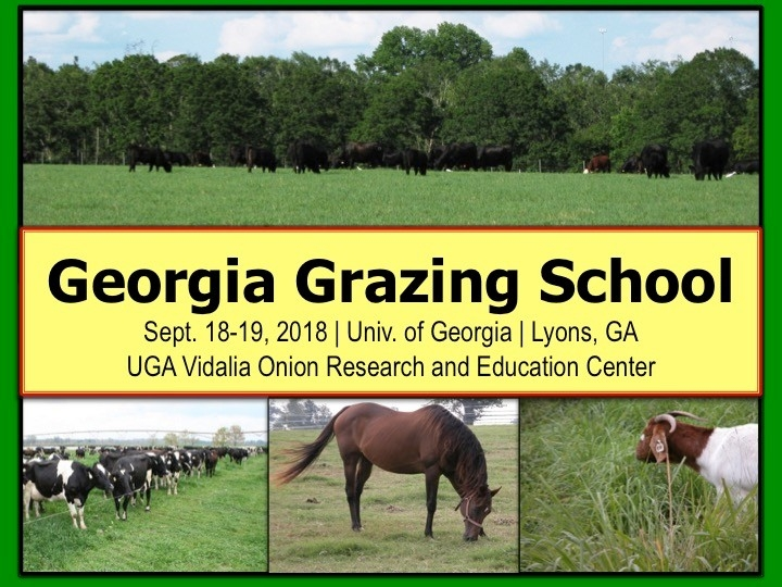 2018 Advanced Grazing School